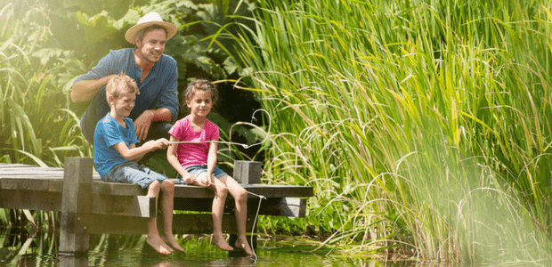 teach kids how to fish