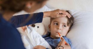 Mom Nursing Sick Child