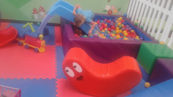 Play Time toddler play area