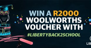 Liberty Back to School WIN R2000 Woolworths voucher