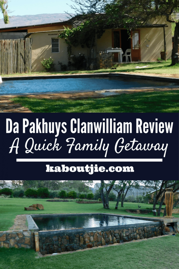 Da Pakhuys Clanwilliam Review