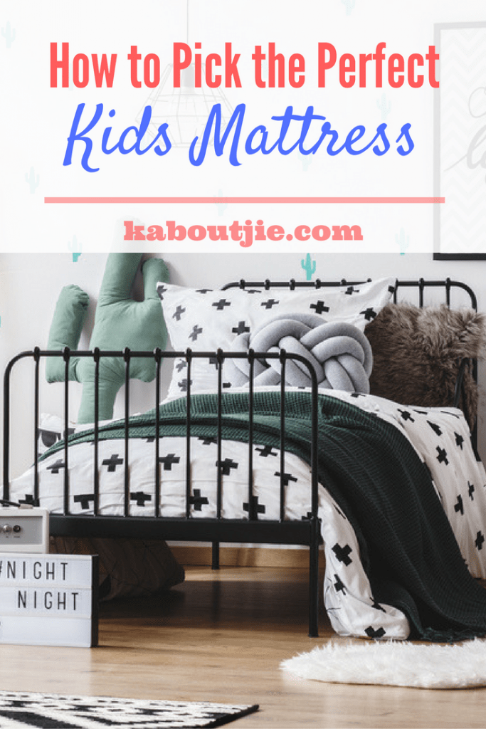 How To Pick The Perfect Kids Mattress