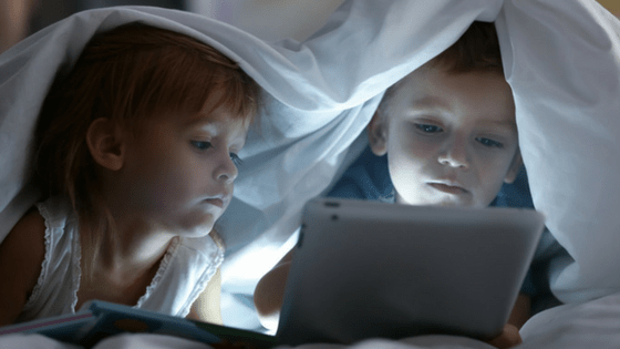 Screen time bedtime