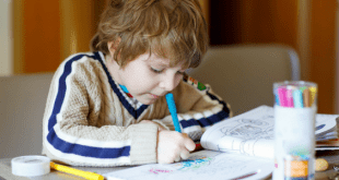 Boy Coloring In Pages