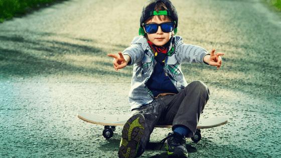 Cool Boy Skating