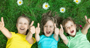 Happy Kids Thumbs Up