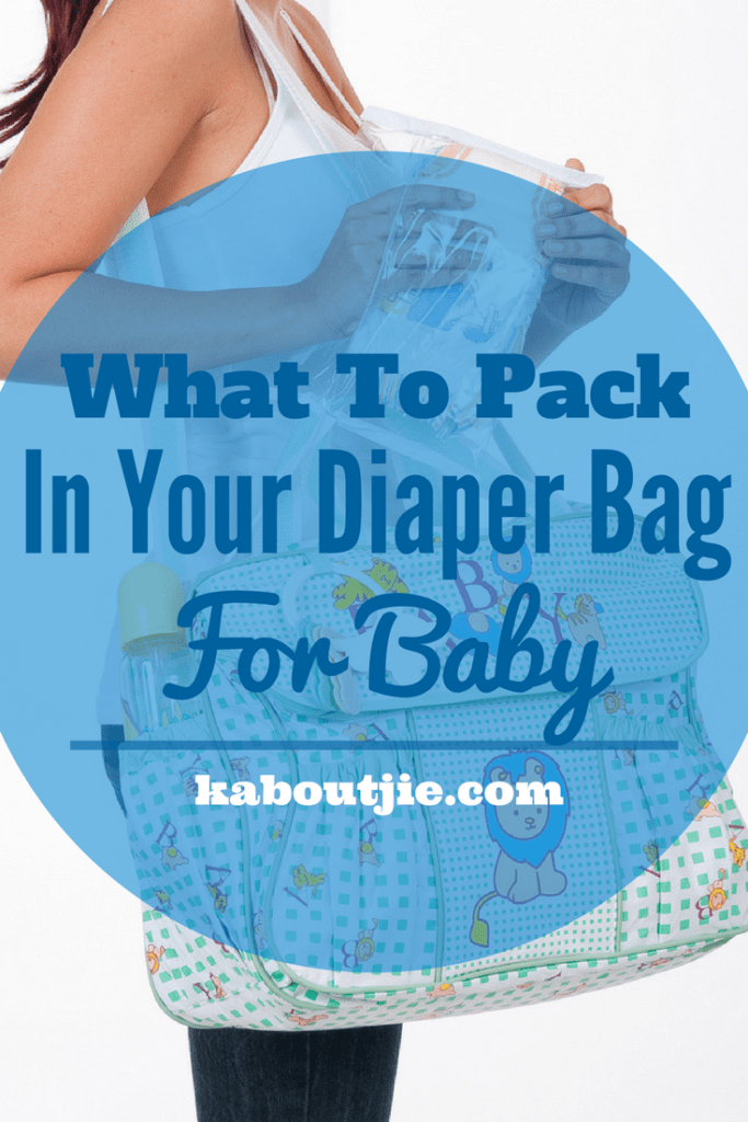 What To Pack In Diaper Bag For Baby