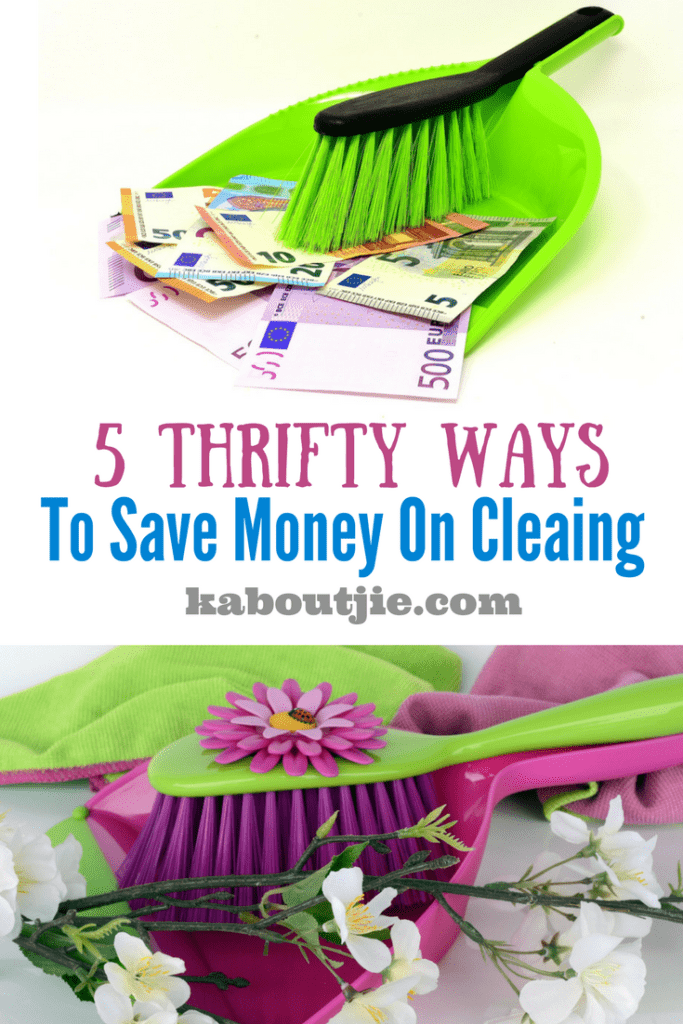5 Thrifty Ways to Save Money on Cleaning