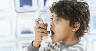 Boy allergy asthma pump