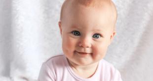 Cute baby white vest
