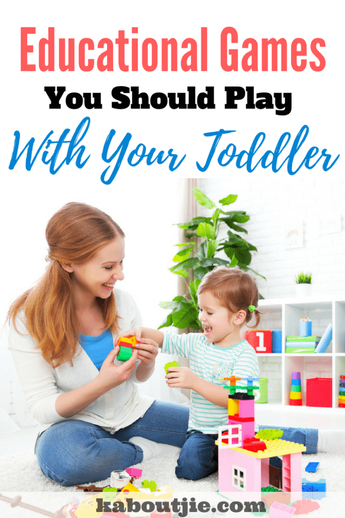 Educational Games Your Should Play With Your Toddler