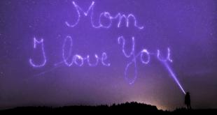 I love you mom message