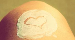 Skincare Heart On Leg