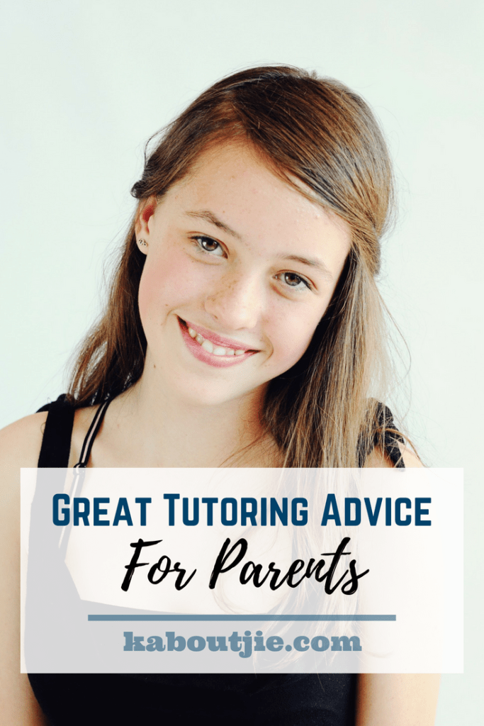 Great Tutoring Advice for Parents