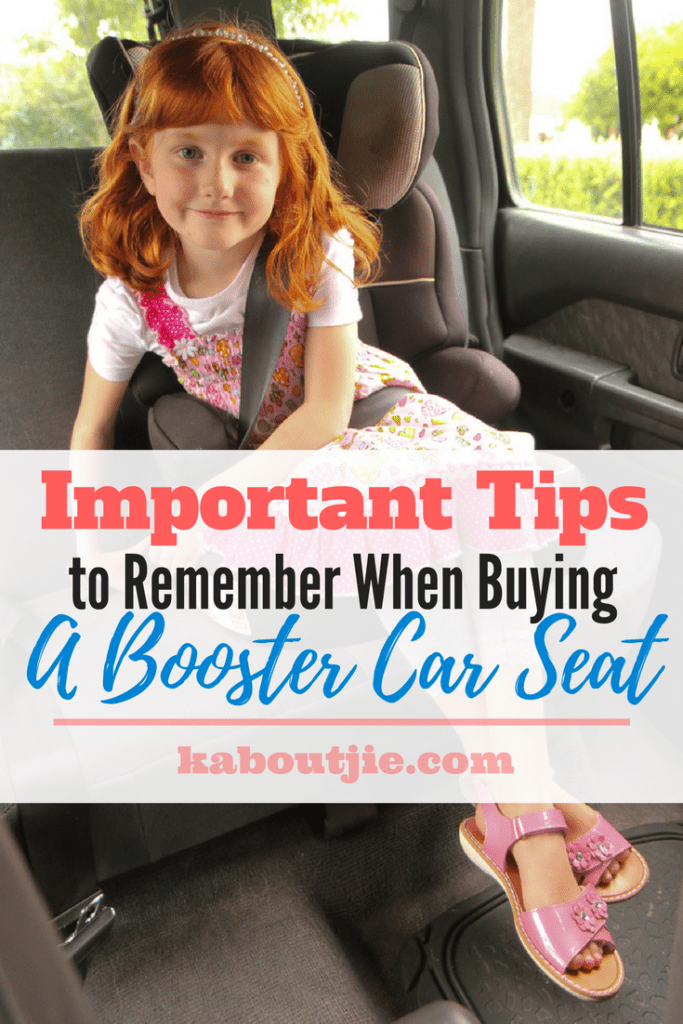 Important Tips To Remember When Buying A Booster Car Seat