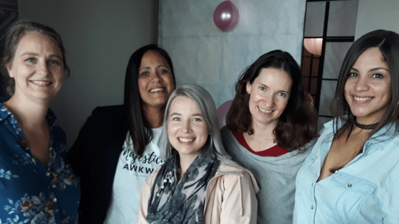 Lynne Huysamen, Kim Muller, Cindy Alfino, Lauren Kinghorn, Lisa Bartlett