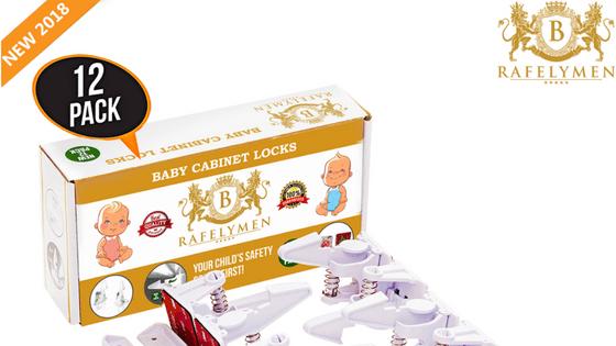 Rafelymen Baby Cabinet Locks