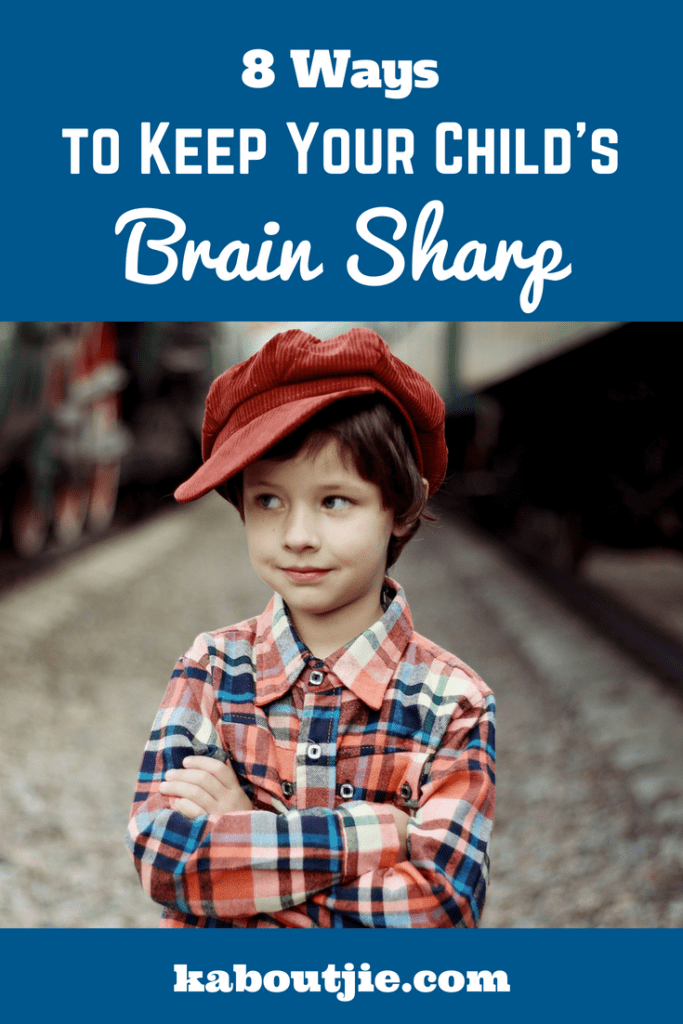 8 Ways to Keep Your Child's Brain Sharp