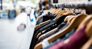 Clothes shopping rail