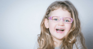Laughing 4 Year Old Girl