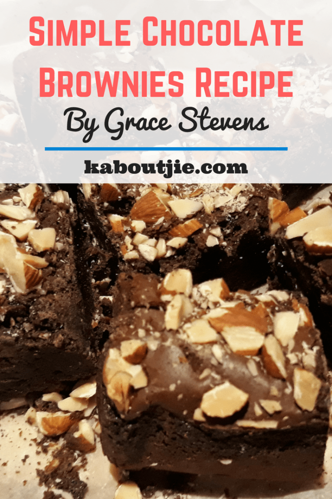 Simple Chocolate Brownies Recipe By Grace Stevens