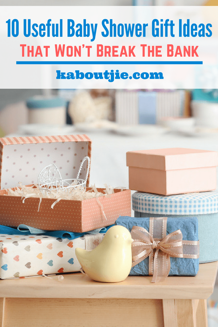 10 Useful Baby Shower Gift Ideas That Won't Break The Bank