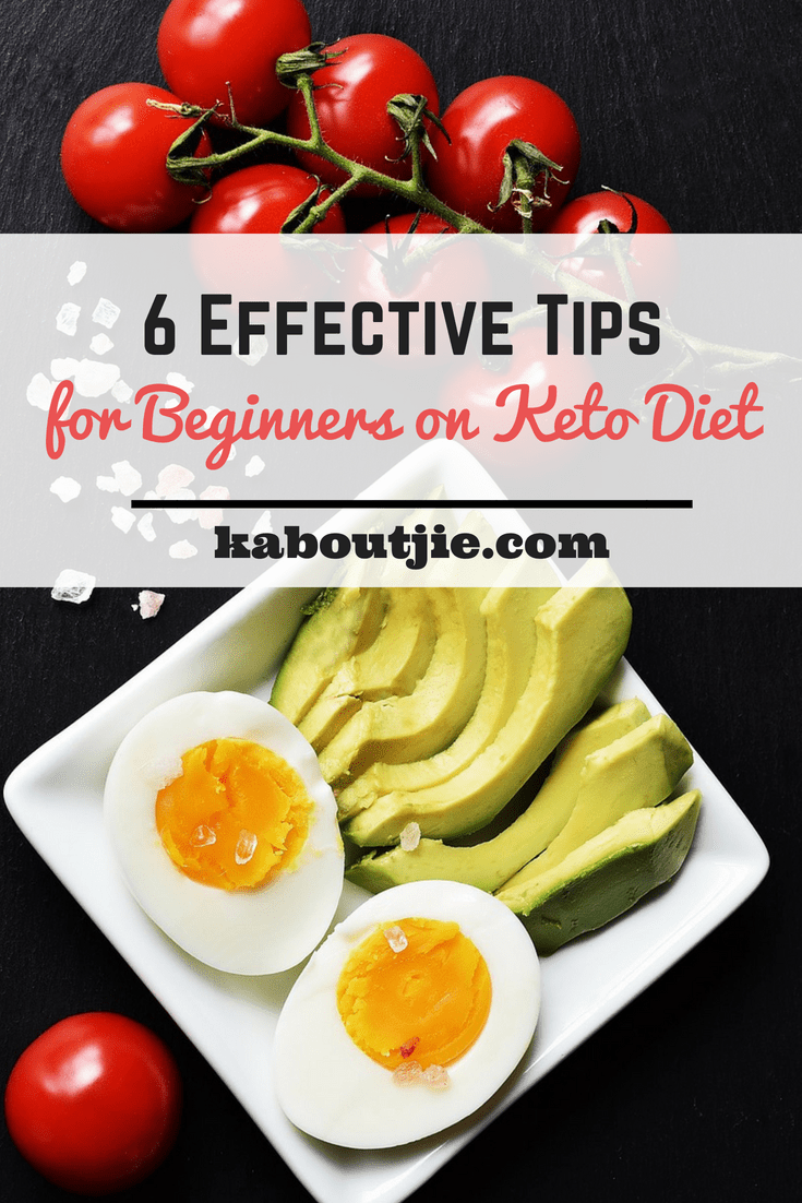6 Effective Tips for Beginners to Keto Diet