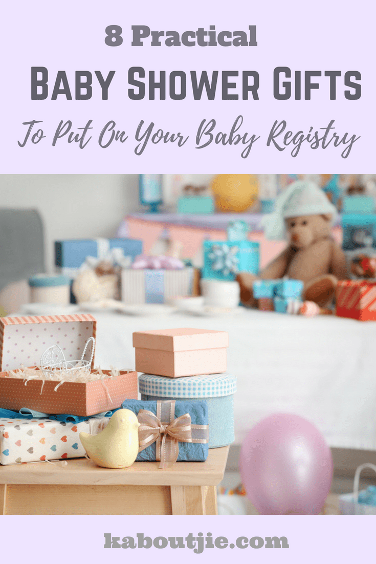 8 Practical Baby Shower Gifts To Put On Your Baby Registry
