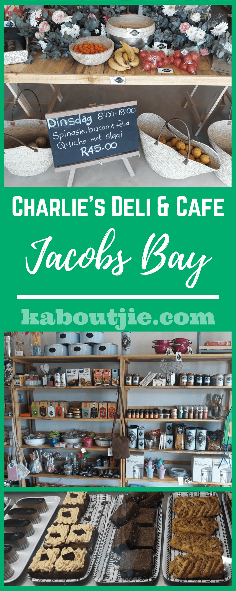 Charlie's Deli & Cafe Review - Jacobs Bay