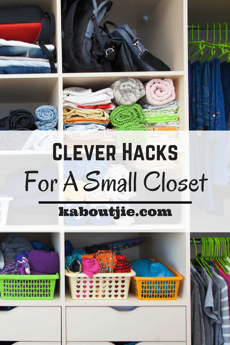Clever Hacks For A Small Closet