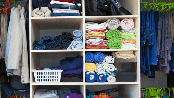 Clothing cupboard