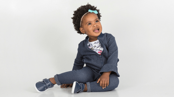 Little girl fashion outfit