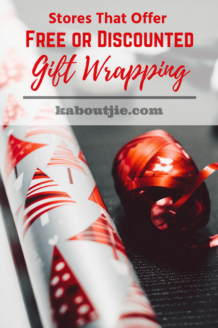 Stores That Offer Free Or Discount Gift Wrapping