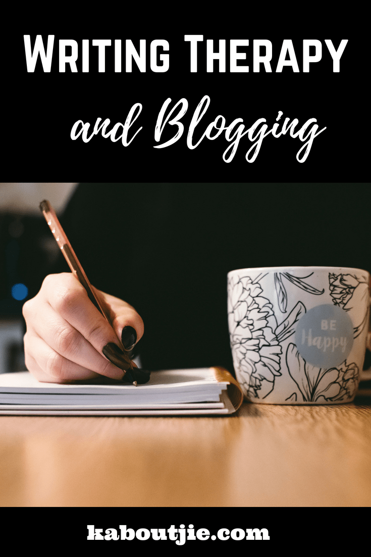 Writing Therapy and Blogging