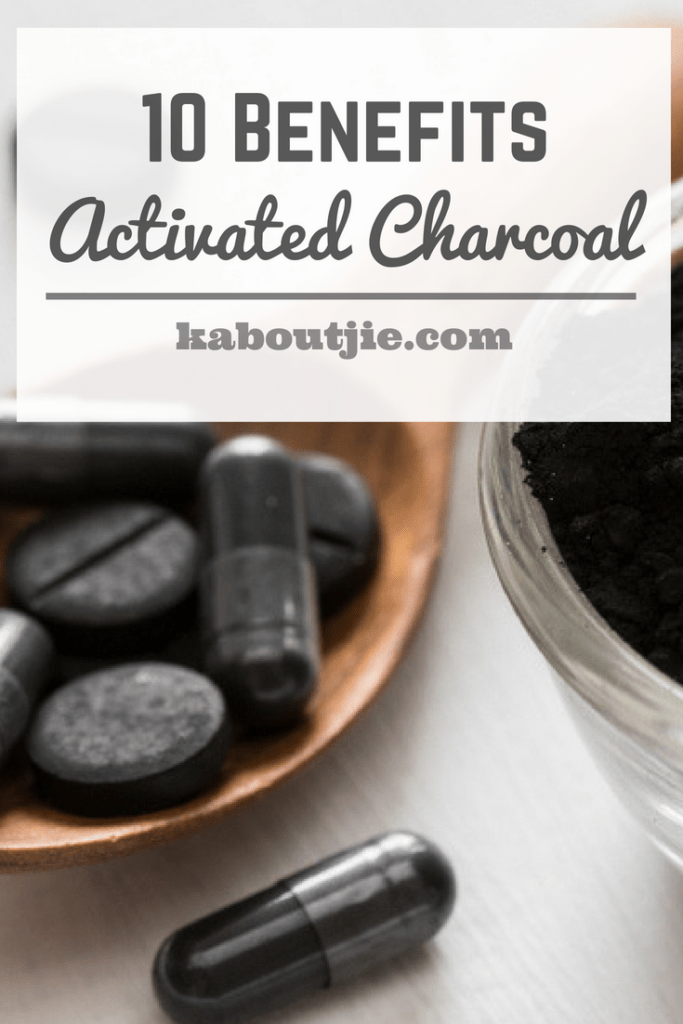 10 Benefits Of Activated Charcoal