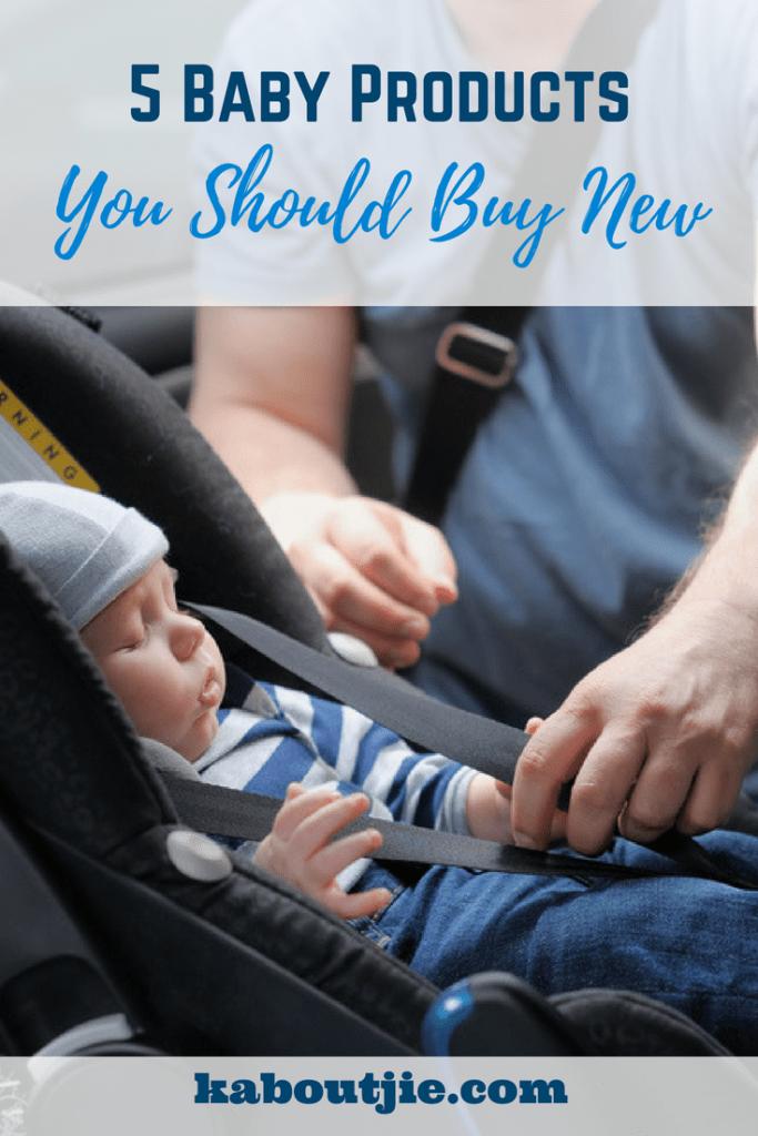 5 Baby Products You Should Buy New