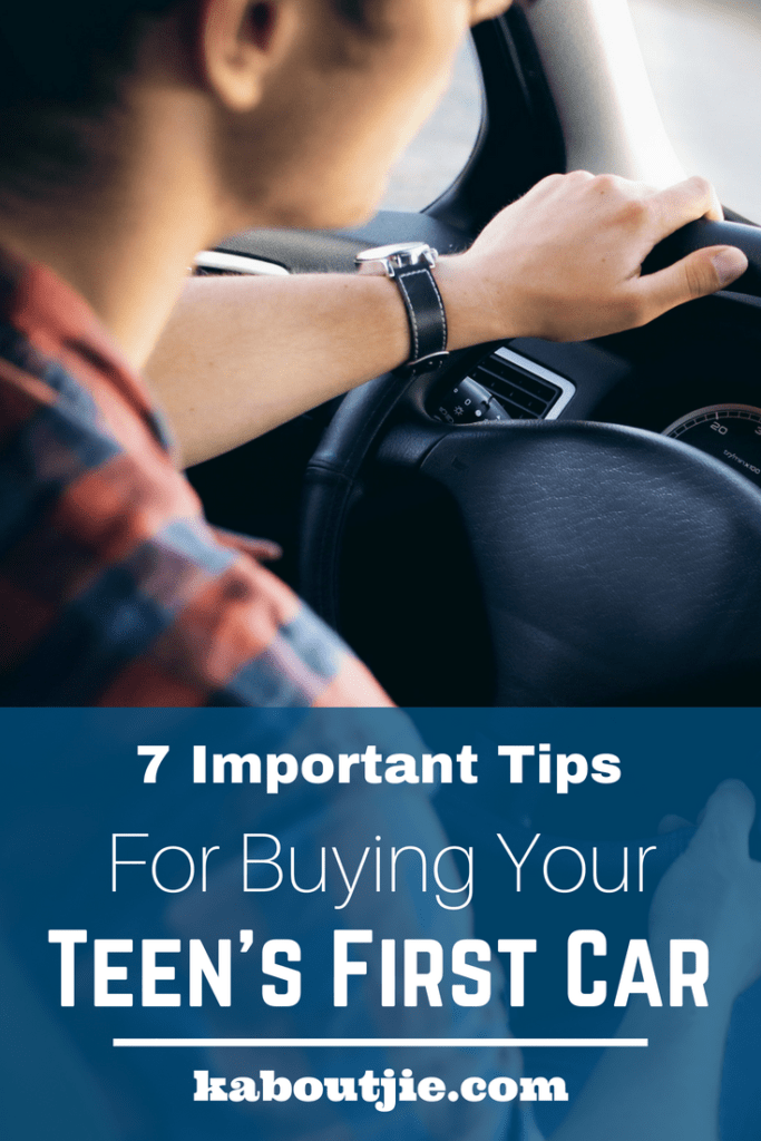 7 Important Tips For Buying Your Teen's First Car