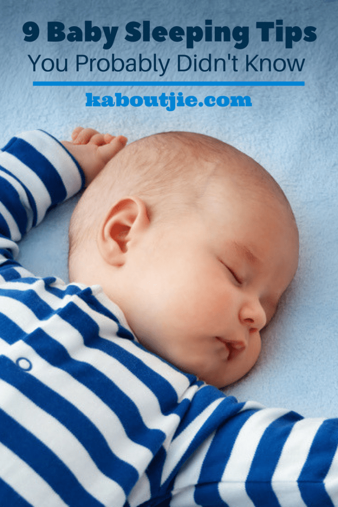 9 Baby Sleep Tips You Probably Didn't Know