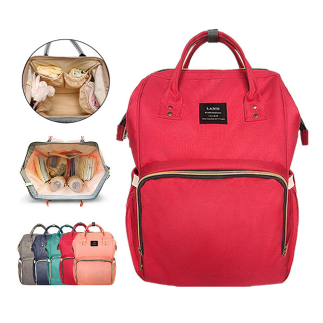Baby Backpack red