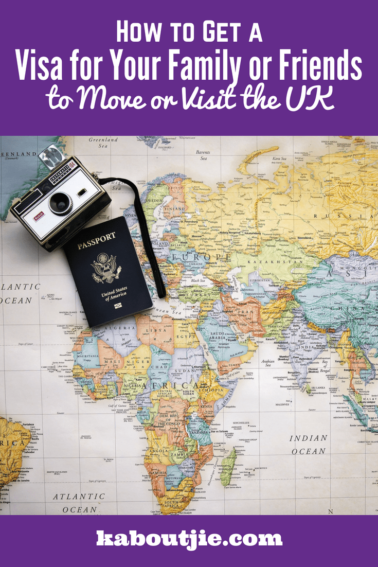 how to get a visa for your family or friends to move or visit the UK