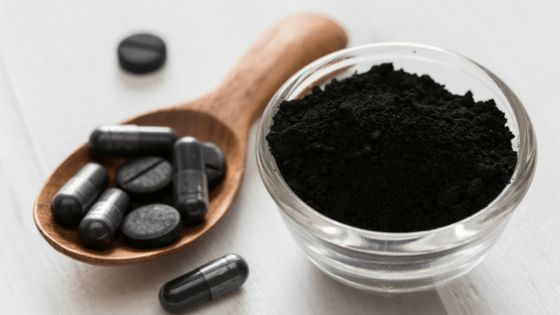 Activated Charcoal Powder and Tablets