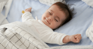 Baby Smiling in Sleep