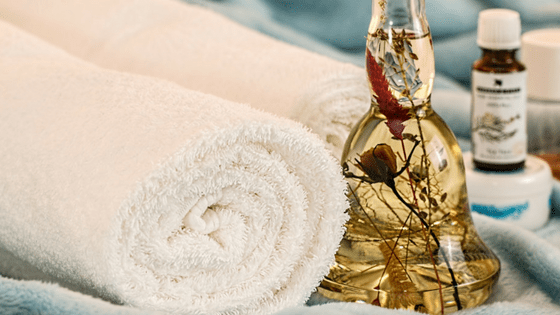 Essential Oils Bottle Towels