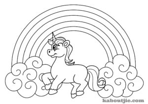 free-printable-unicorn-coloring-page | Kaboutjie