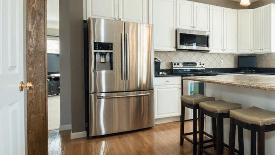 fridge counter