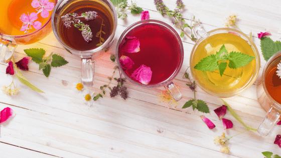 Herbal teas variety