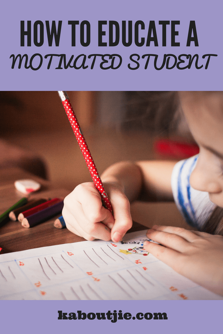 how to educate a motivated student