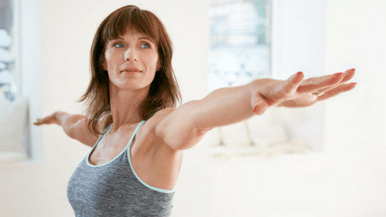 Side arm raises to reduce breast size