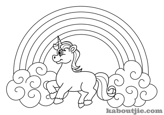 Beautiful Unicorn Coloring Pages For Kids and Adults | Kaboutjie