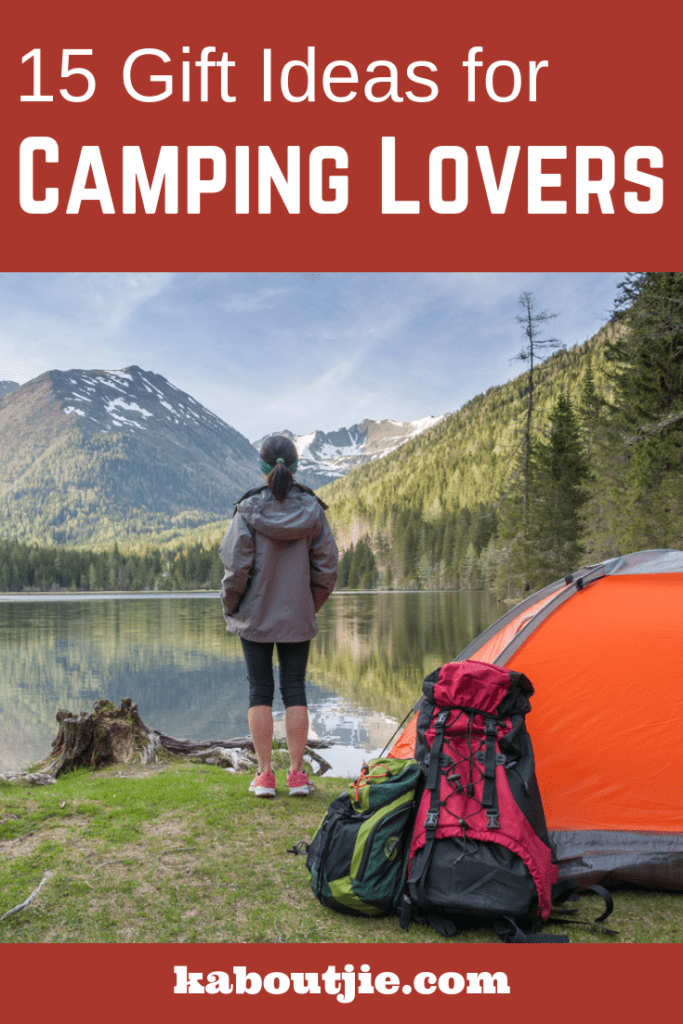 15 Gifts Ideas for Camping Lovers